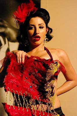 Burlesque 22.10.2011 al Cafè 442 Palermo - Scarlett Martini