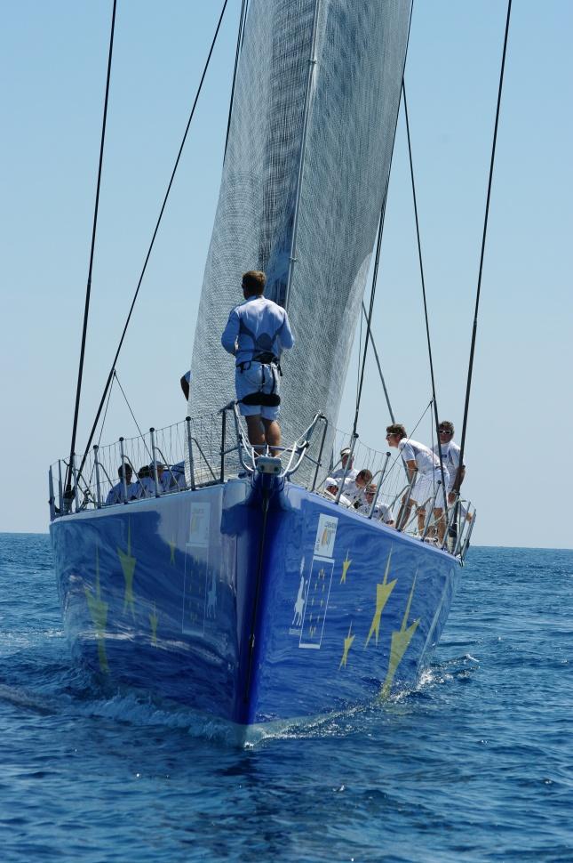 Esimit Europa 2 - La barca di 30 metri vincitrice in tempo reale